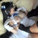 元地下アイドルのS級激カワ美少女がロリ系衣装でバックからハメられ感じまくり!