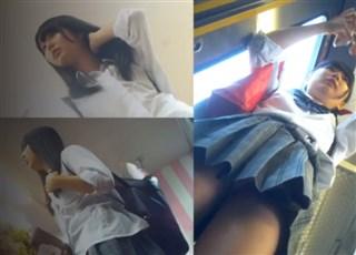 【盗撮動画】BORMAN JK専門ストーカーの粘着パンチラ撮り vol.16 (1/10)