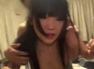 """""""ガチレイプ映像""""犯罪注意!号泣しながら顔射され恐怖でおしっこお漏らししてしまう美少女JK"""